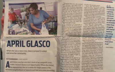April Glasco in the News